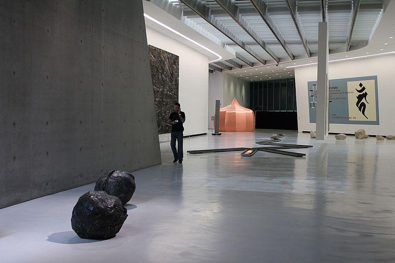 pino pascali museum puglia with rain