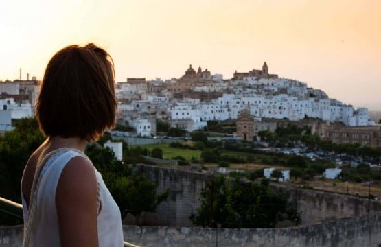 ostuni sunset