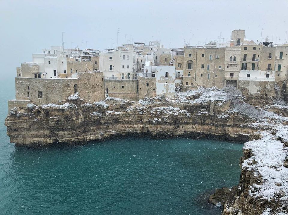 best pictures puglia in the snow